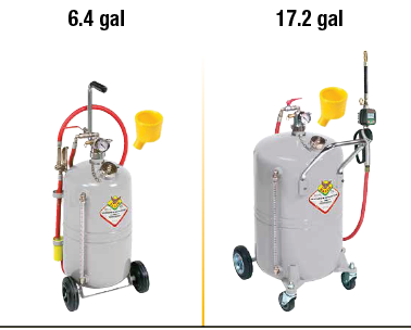 Air-Operated Oil Dispensers